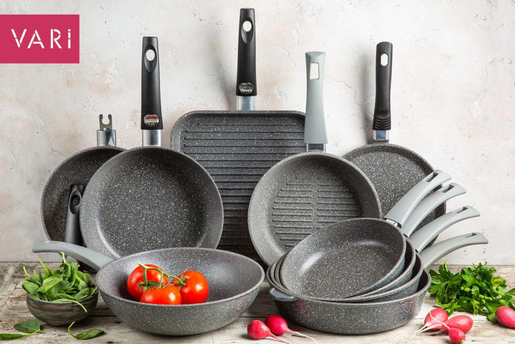 Vari коллекция посуды PIETRA серый гранит