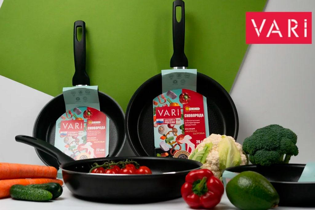 Коллекция сковорода Формула здоровья Vari